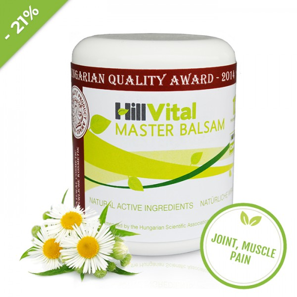 Master Cream - joint, muscle and back pain 250 ml
