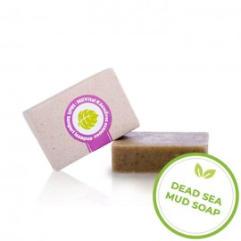 Handmade Soap - Dead Sea Mud Soap for Eczema and Psoriasis 95 g