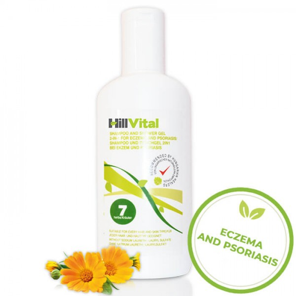 Shower gel and shampoo for eczema and psoriasis 250 ml