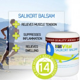 Salikort balsam for carpal tunnel, meniscus, migraines, and inflammation 250 ml