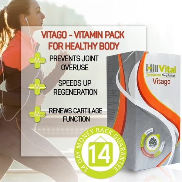 Vitago - Vitamin pack for healthy body 30 sachets