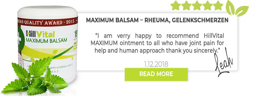 Maximum Balsam review: By Gabrielle