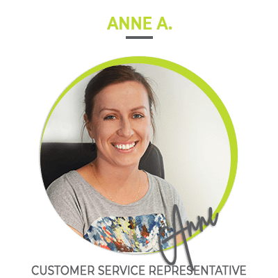 Anne A. Customer service representative | HillVital