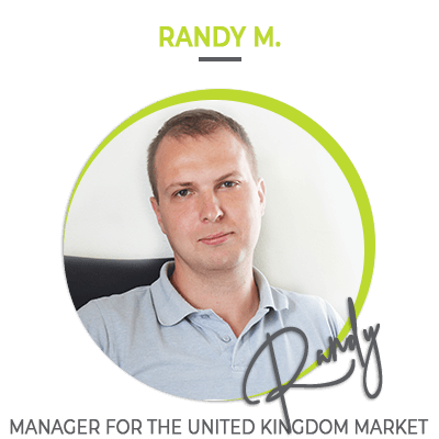 Randy M. Manager for the United Kingdom market | HillVital